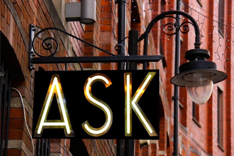 Informatie en advies geven begint met een vraag